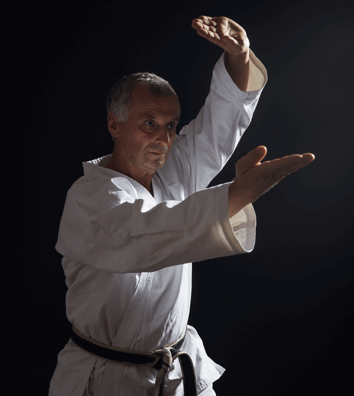 Martial Arts Lessons for Adults in Angleton TX - Older Man