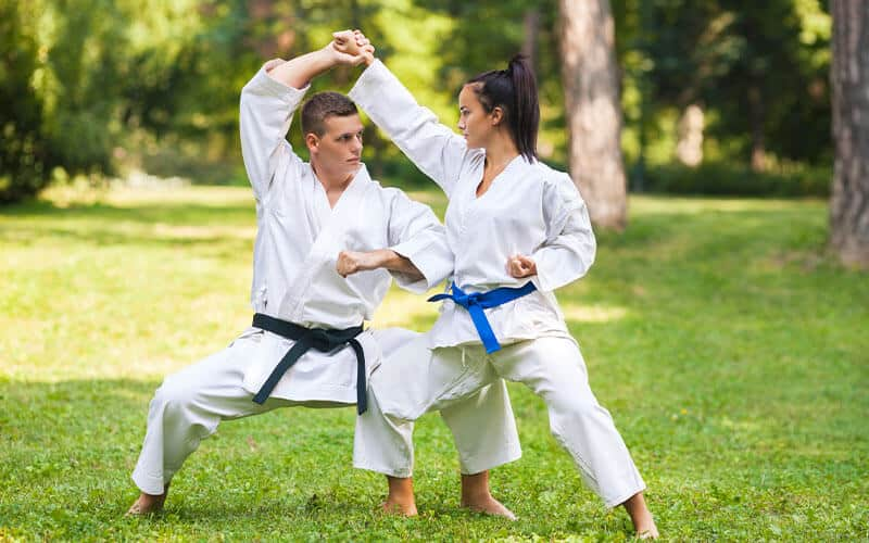 Martial Arts Lessons for Adults in Angleton TX - Outside Martial Arts Training