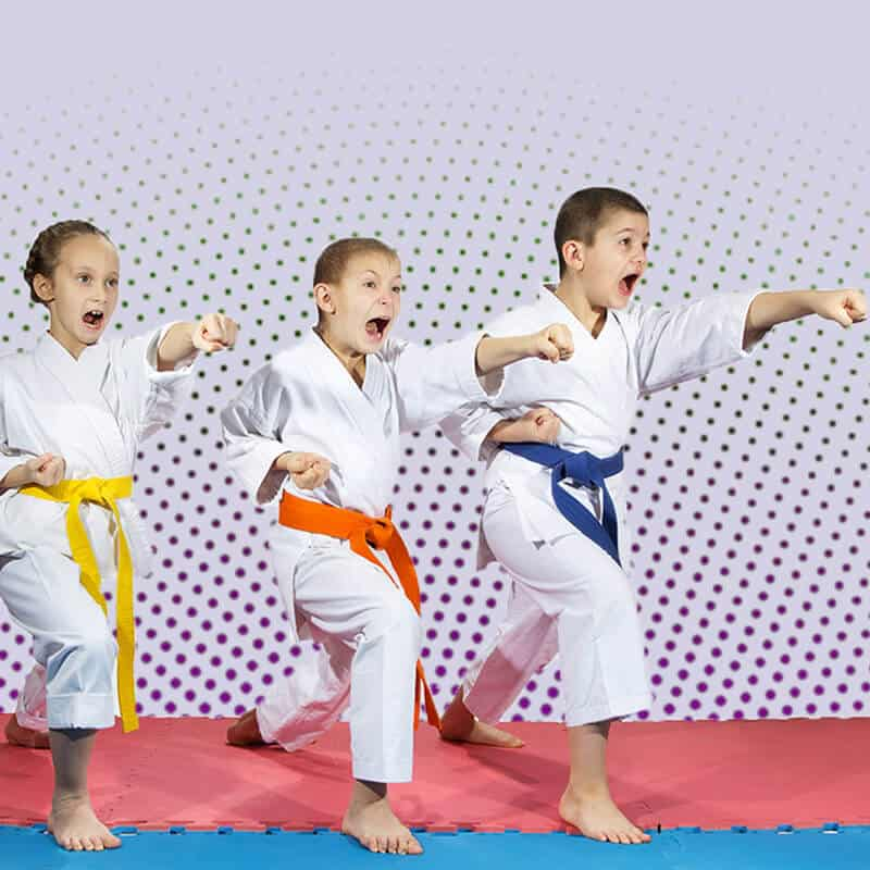 Martial Arts Lessons for Kids in Angleton TX - Punching Focus Kids Sync