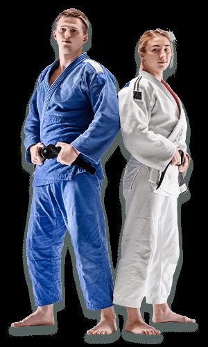Brazilian Jiu Jitsu Lessons for Adults in Angleton TX - BJJ Man and Woman Banner Page