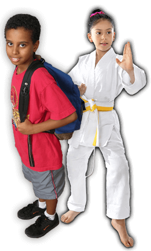After School Martial Arts Lessons for Kids in Angleton TX - Backpack Kids Banner Page