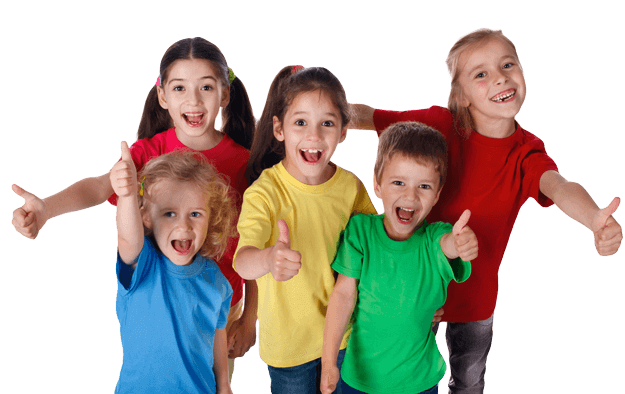 Martial Arts Summer Camp for Kids in Angleton TX - Happy Smiling Kids Footer Banner