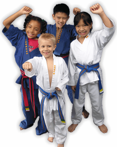 Martial Arts Summer Camp for Kids in Angleton TX - Happy Group of Kids Banner Summer Camp Page